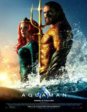 Aquaman 2018 Hindi Dual Audio 400MB HDCAM 480p