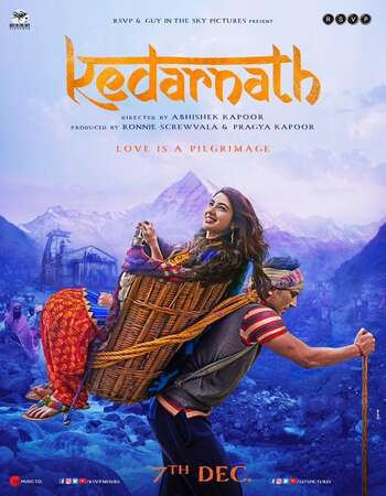 Kedarnath 2018 Hindi 550MB HDRip 720p HEVC