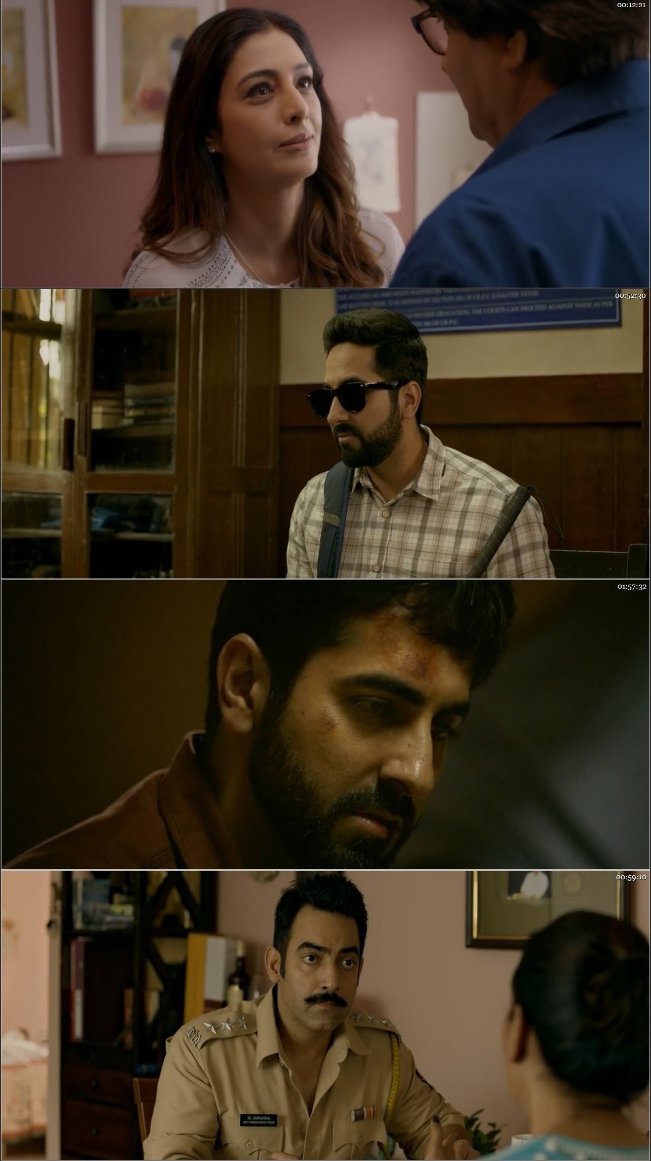 Andhadhun 2018 Dual Audio Hindi BluRay Full Movie Download HD