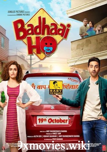 Badhaai Ho 2018 Hindi 720p WEB-DL 850MB