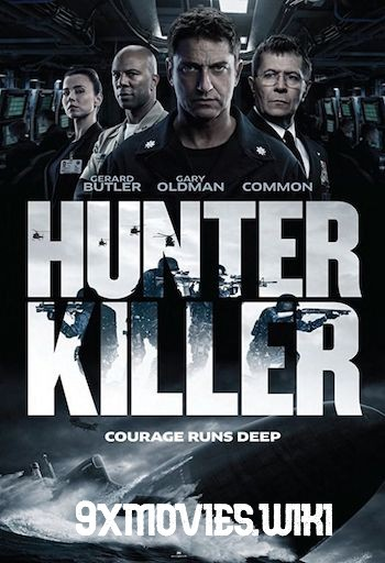 Hunter Killer 2018 English 720p HC HDRip 950MB