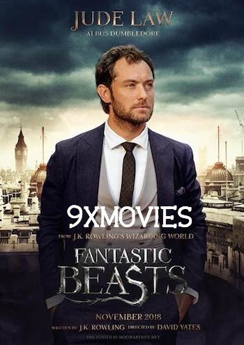 Fantastic Beasts The Crimes of Grindelwald 2018 Dual Audio Hindi 720p HDRip 850mb