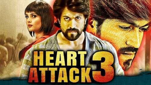 Heart Attack 3 2018 Hindi Dubbed 300MB HDRip 480p