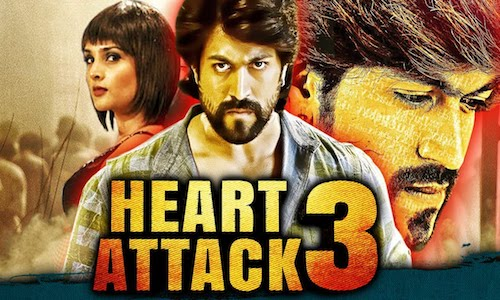 Heart Attack 3 (2018) Hindi Dubbed 720p HDRip 850mb