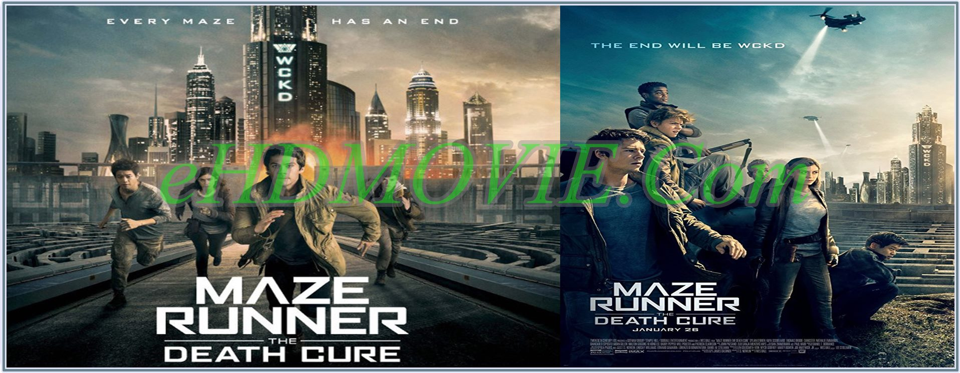 Maze Runner The Death Cure 2018 Full Movie Dual Audio [Hindi – English] 720p - 480p ORG BRRip 450MB - 1.3GB ESubs Free Download