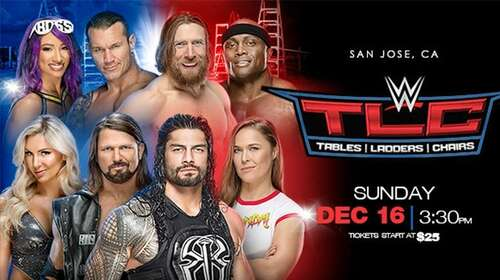 WWE TLC 16th December 2018 900MB PPV WEBRip 480p