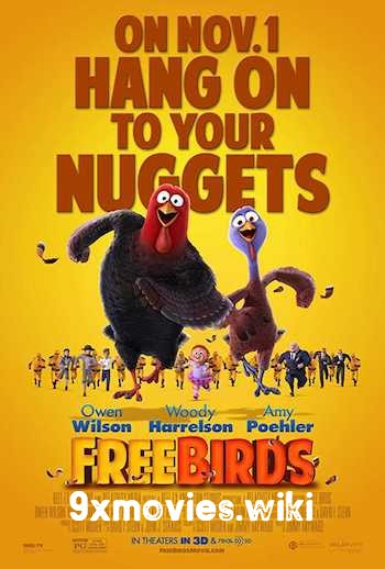 Free Birds 2013 Dual Audio Hindi 720p BluRay 950mb