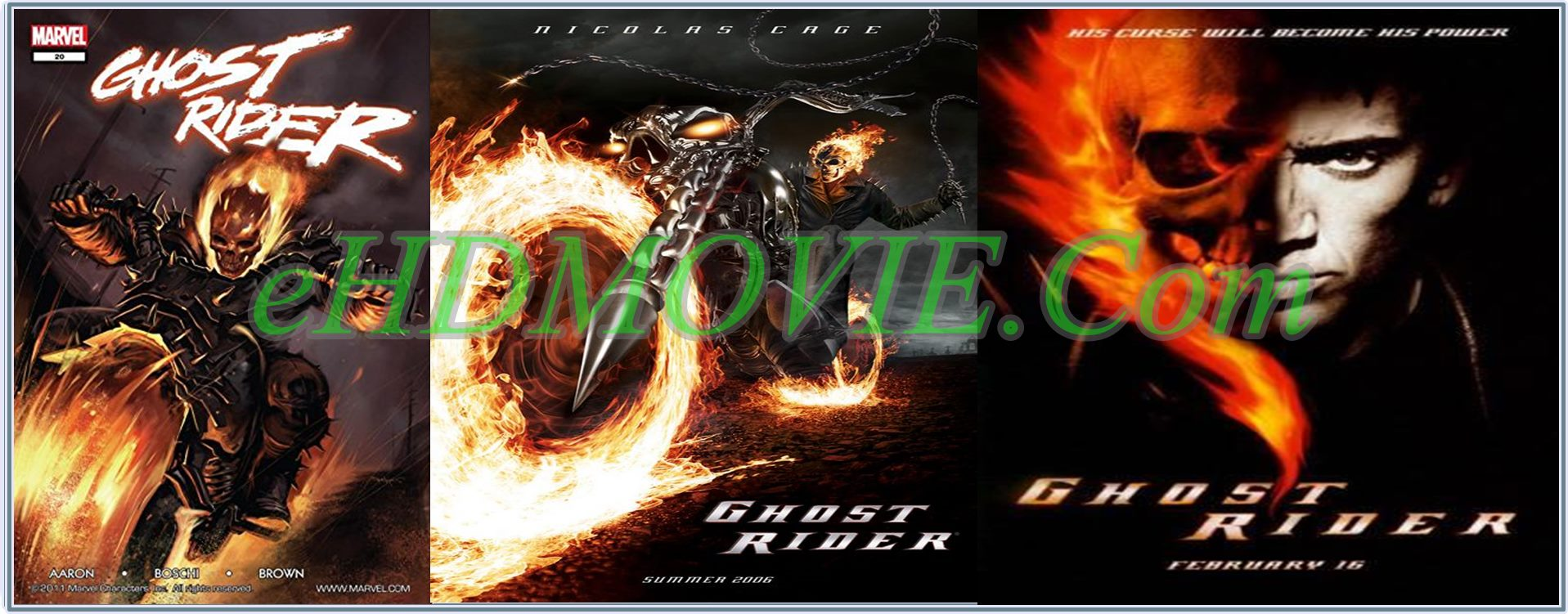 Ghost Rider 2007 Full Movie Dual Audio [Hindi – English] 720p - 480p ORG BRRip 400MB - 950MB ESubs Free Download