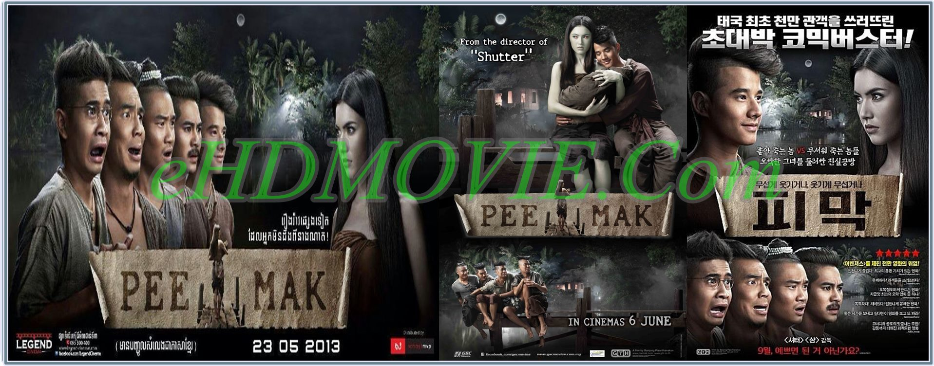 Pee Mak Phrakanong 2013 Full Movie Thailand 720p - 480p ORG BRRip 400MB - 800MB ESubs Free Download