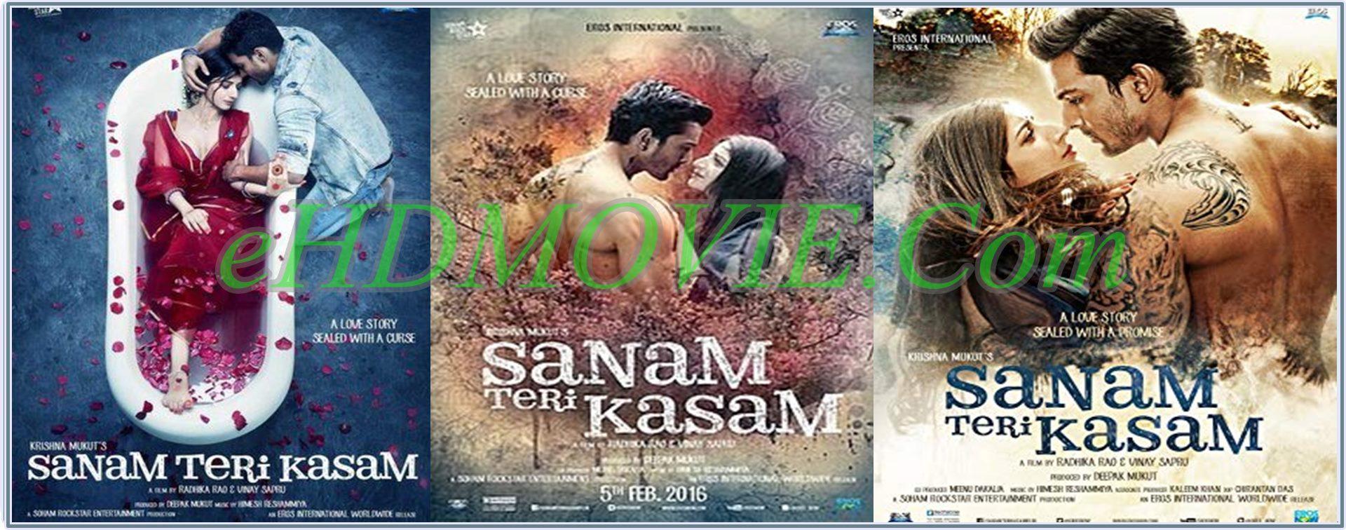 Sanam Teri Kasam 2016 Full Movie Hindi 720p - 480p ORG BRRip 350MB - 1.4GB ESubs Free Download