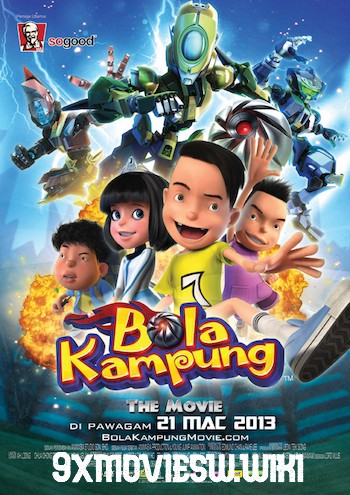 Bola Kampung The Movie 2013 Dual Audio Hindi 720p WEBRip 800mb
