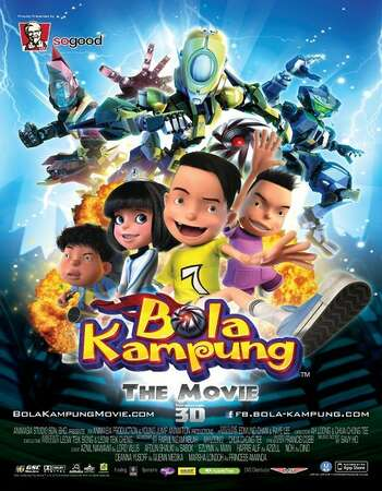 Bola Kampung The Movie 2013 Hindi Dual Audio WEBRip Full Movie 300mb Download