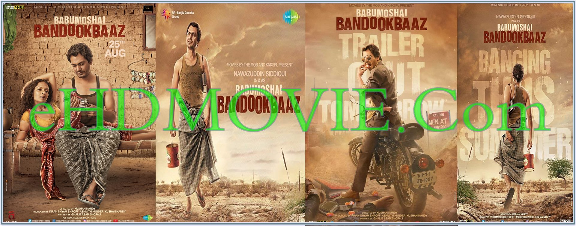 Babumoshai Bandookbaaz 2017 Full Movie Hindi 1080p – 720p – HEVC – 480p ORG WEB-DL 350MB – 550MB – 950MB – 2GB ESubs Free Download
