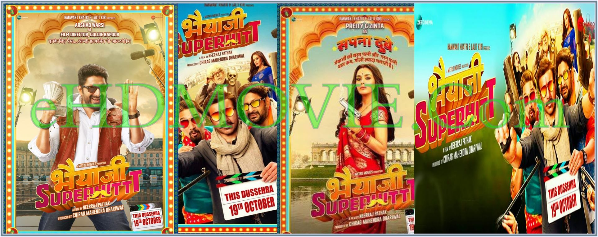 Bhaiaji Superhit 2018 Full Movie Hindi 1080p – 720p – HEVC – 480p ORG WEB-DL 400MB – 600MB – 1GB – 2GB ESubs Free Download