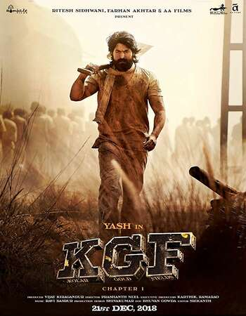 KGF Chapter 1 2018 Hindi Dubbed 750MB HDRip 720p ESubs HEVC
