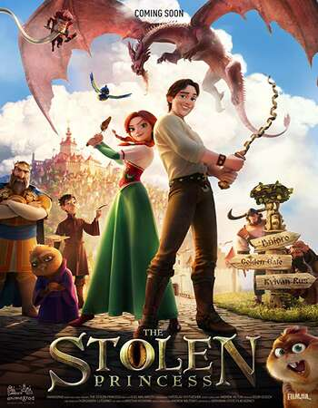 The Stolen Princess 2018 Hindi Dual Audio 280MB HDRip 480p 720p 900MB