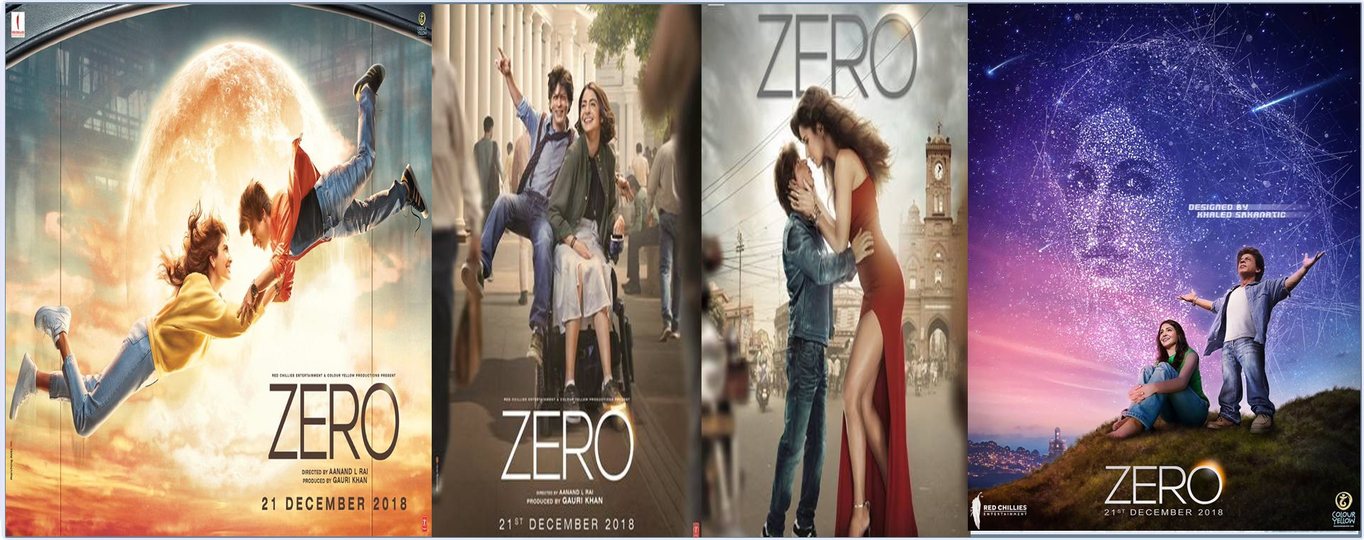 Zero 2018 Full Movie Hindi 720p - 480p ORG Pre-DvD 450MB - 1.4GB ESubs Free Download