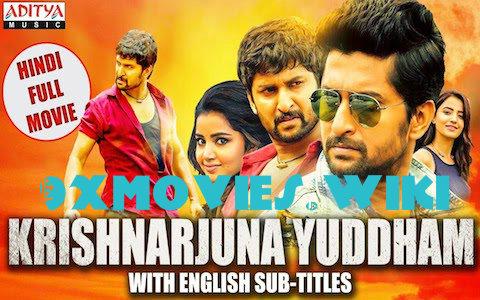 Krishnarjuna Yuddham 2018 Hindi Dubbed 720p HDRip 950mb