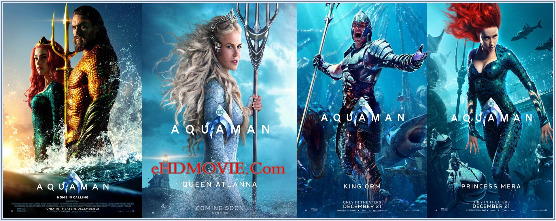 Aquaman 2018 Full Movie Dual Audio [Hindi – English] 720p - 480p ORG HDTC-Rip 450MB - 1.2GB ESubs Free Download