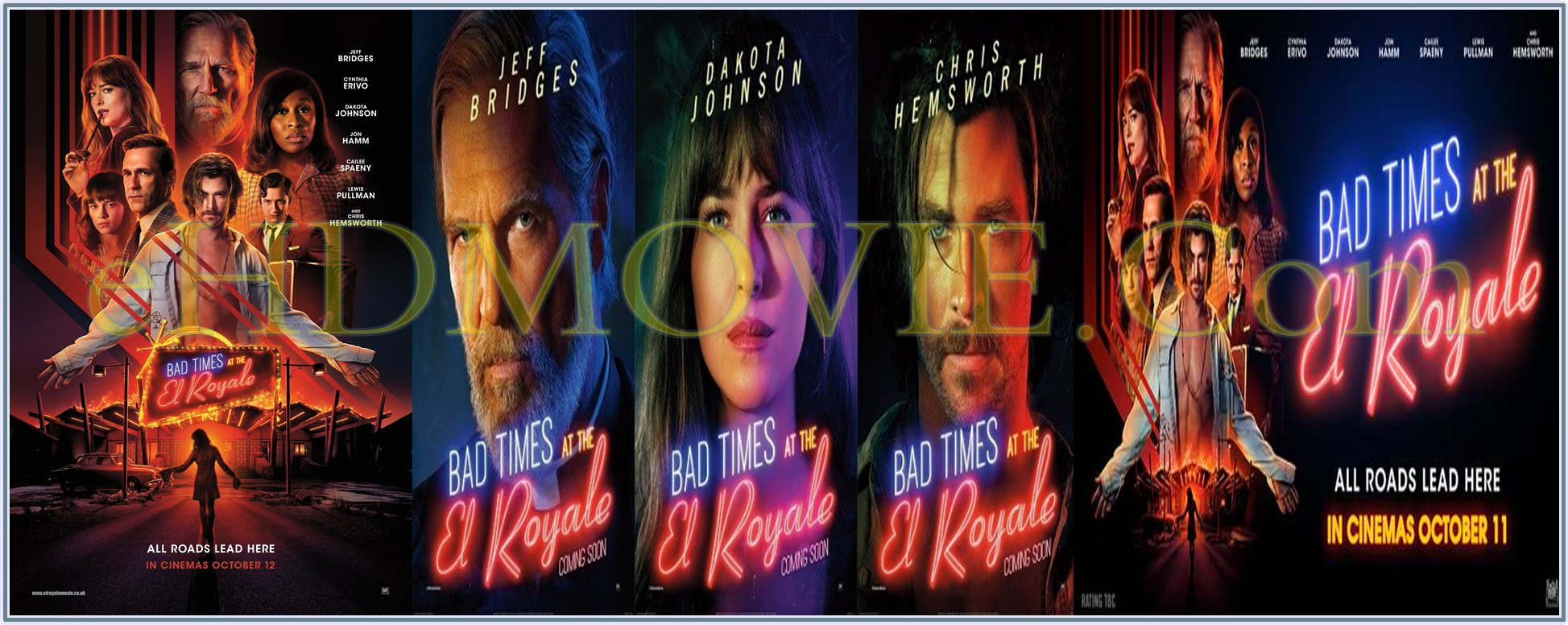 Bad Times at the El Royale 2018 Full Movie English 720p - 480p ORG BRRip 550MB - 700MB - 1GB ESubs Free Download
