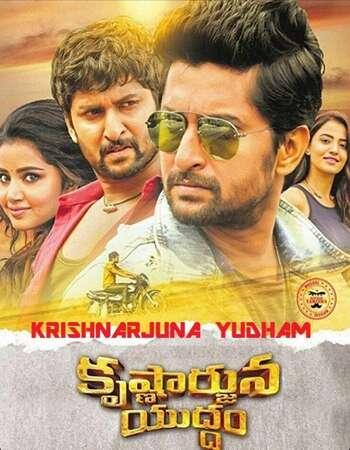 Krishnarjuna Yudham 2018 UNCUT Hindi Dual Audio HDRip Full Movie 720p Free Download