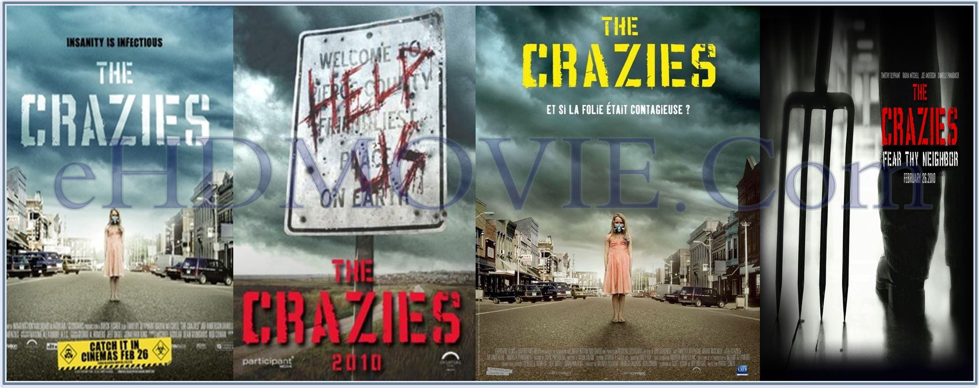 The Crazies 2010 Full Movie English 720p - 480p ORG BRRip 350MB - 700MB ESubs Free Download