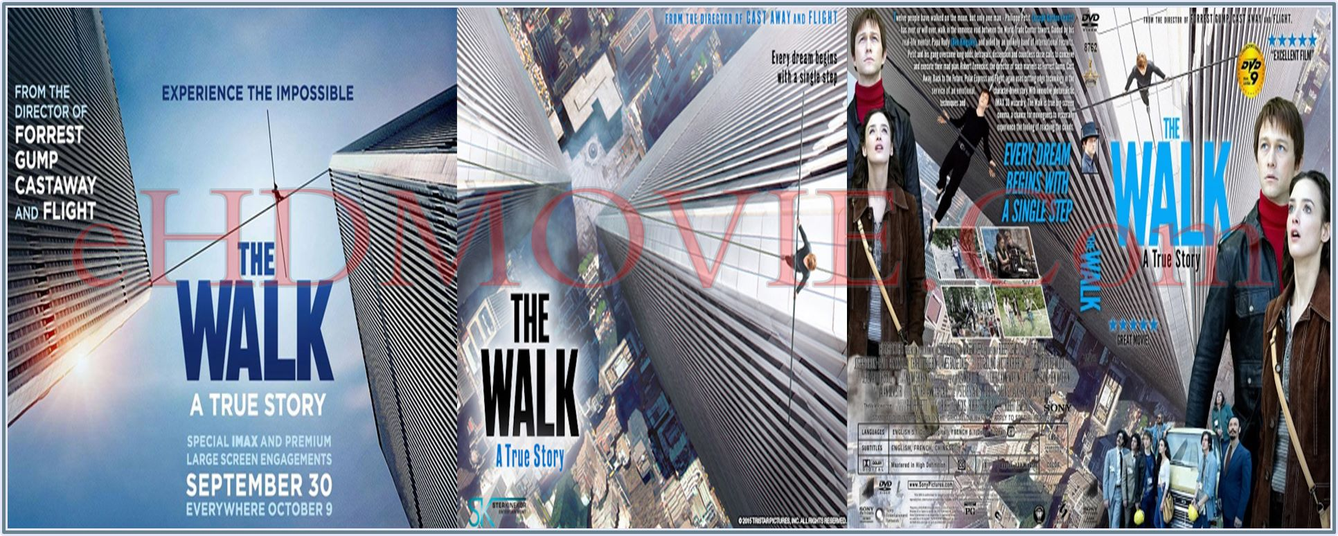 The Walk 2015 Full Movie Dual Audio [Hindi – English] 720p - 480p ORG BRRip 350MB - 900MB ESubs Free Download