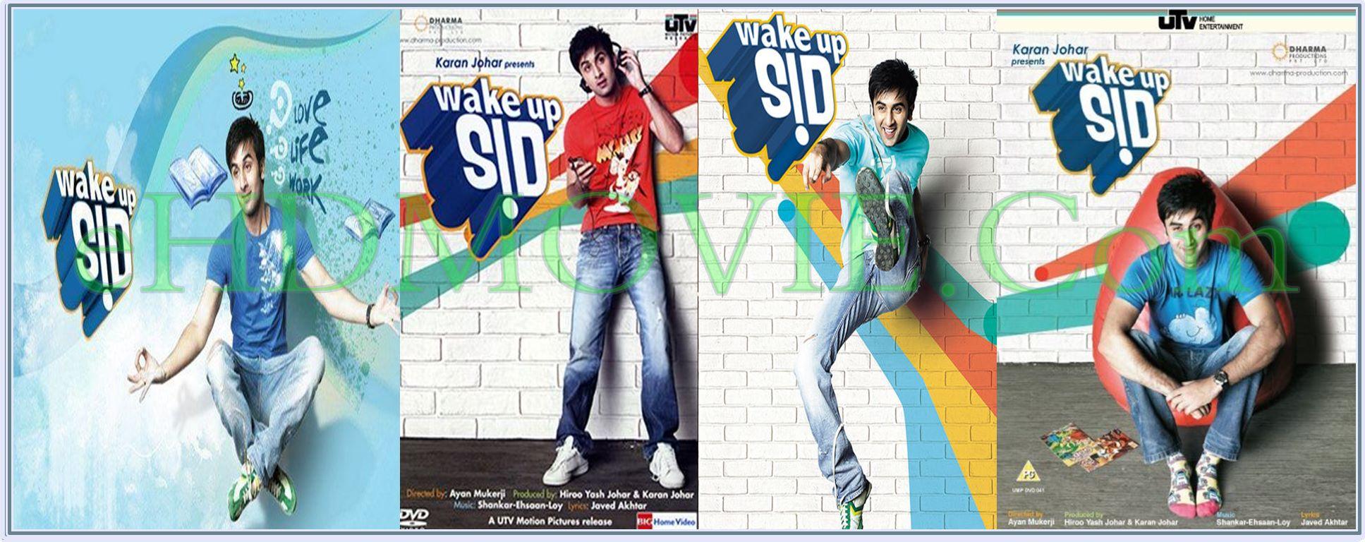 Wake Up Sid 2009 Full Movie Hindi 720p - 480p ORG BRRip 450MB - 850MB ESubs Free Download