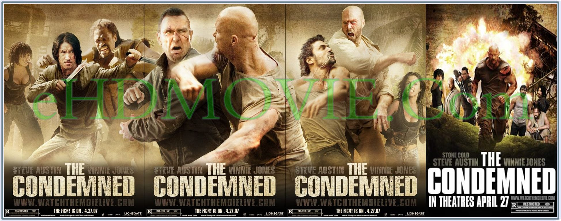 The Condemned 2007 Full Movie English 720p - 480p ORG BRRip 450MB - 950MB ESubs Free Download