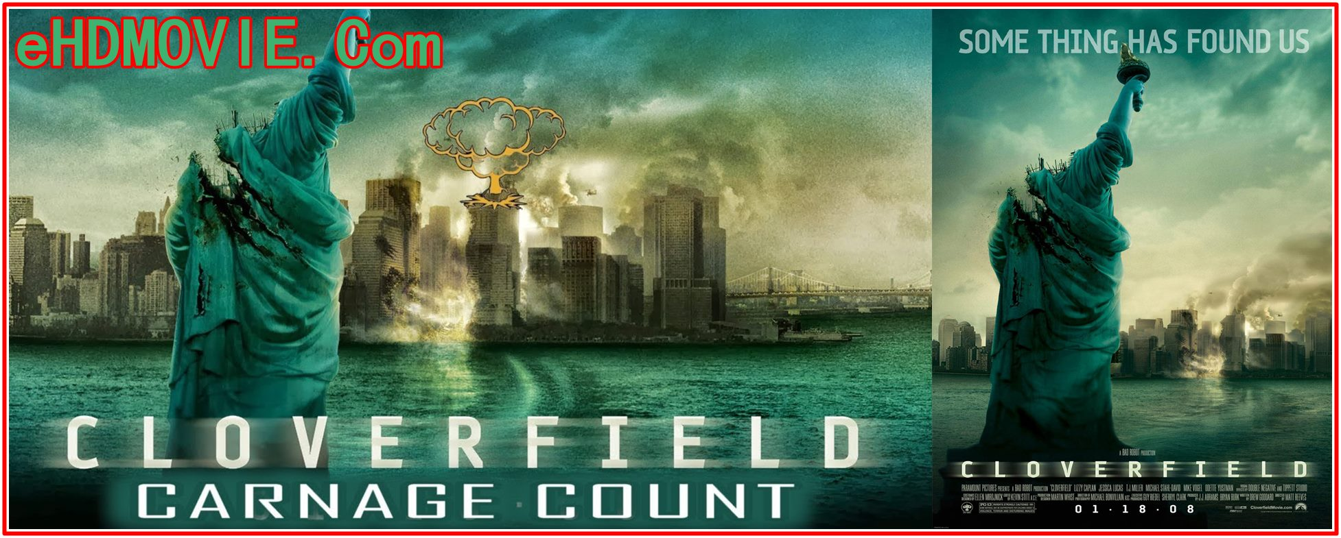 Cloverfield 2008 Full Movie English 720p – 480p ORG BRRip 300MB – 750MB ESubs Free Download