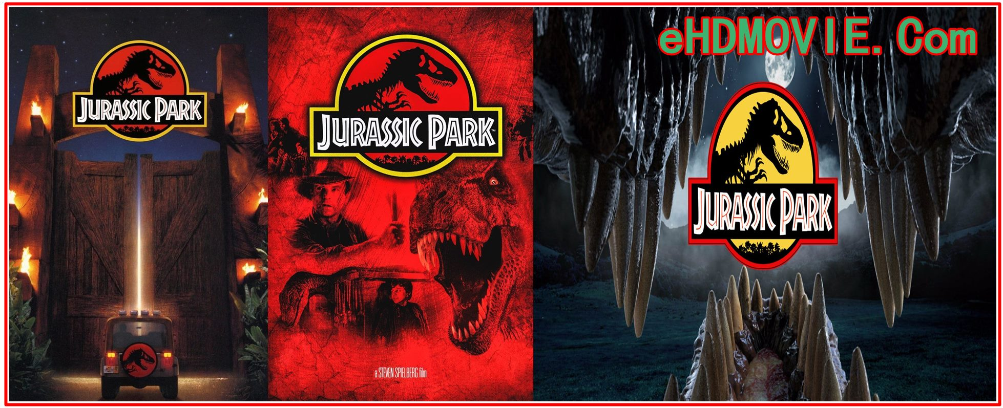 Jurassic Park 1993 Full Movie Dual Audio [Hindi – English] 720p – 480p ORG BRRip 350MB – 1GB ESubs Free Download