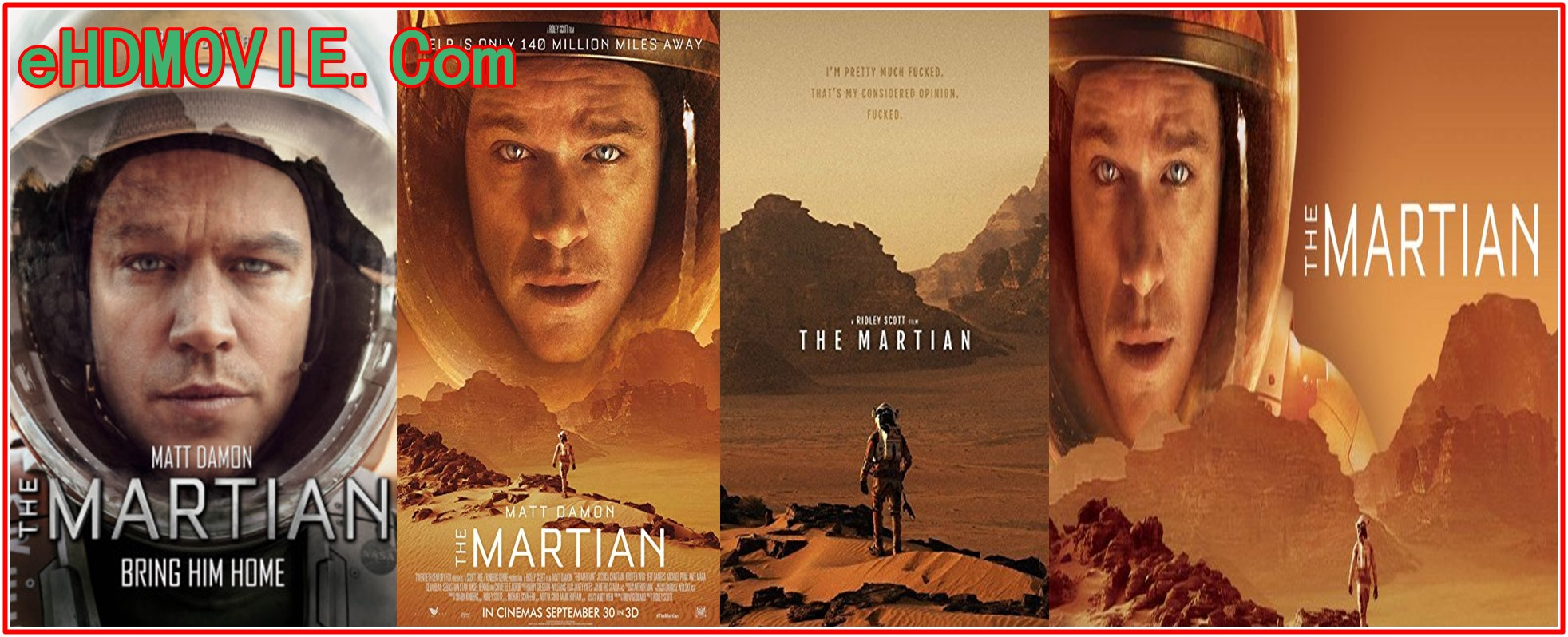 The Martian 2015 Full Movie Dual Audio [Hindi – English] 720p – 480p ORG BRRip 450MB – 1.2GB ESubs Free Download
