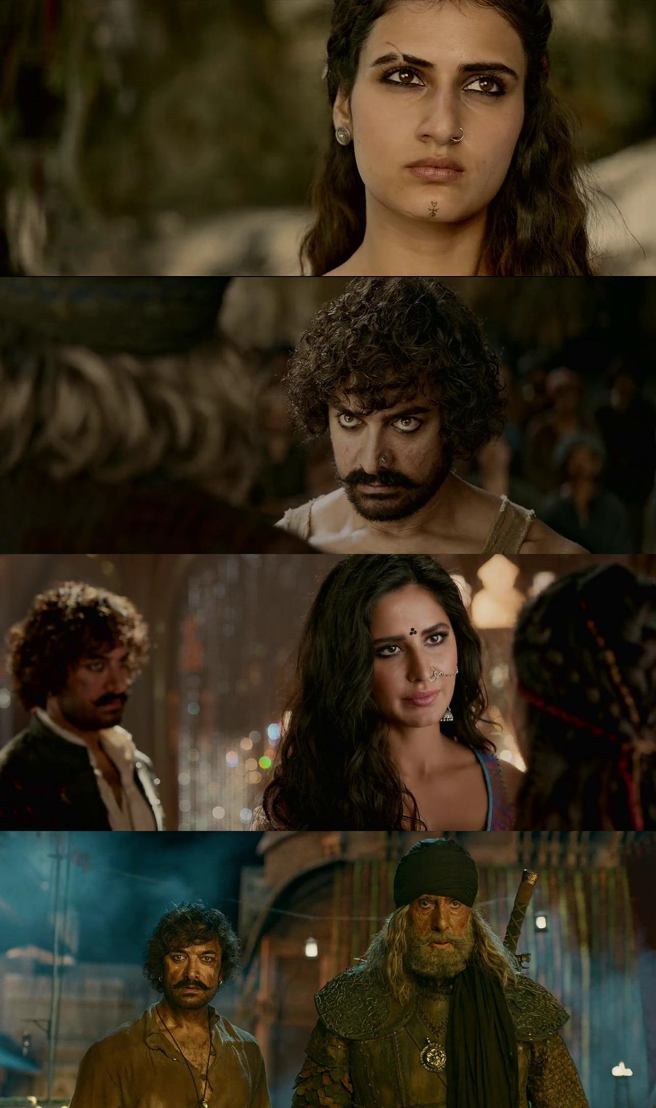 Thugs of Hindostan 2018 Dual Audio Hindi BluRay Full Movie Download HD