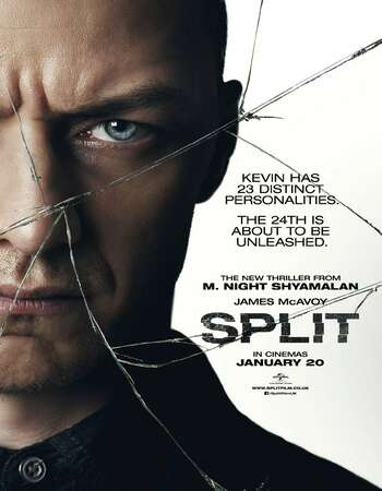 Split 2016 Hindi Dual Audio 350MB BluRay 480p 720p 1GB