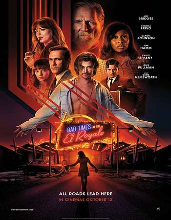 Bad Times at the El Royale 2018 Hindi Dual Audio BRRip Full Movie 720p HEVC Free Download