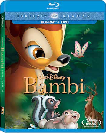 Bambi 1942 Dual Audio Hindi 480p BluRay 250mb