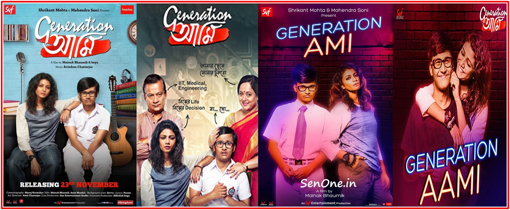 Generation Aami 2018 Bengali Full Movie Original 480p – 720p ORG WEB-DL 350MB – 1.1GB