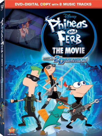Phineas And Ferb The Movie 2011 Dual Audio Hindi 720p BluRay 600mb