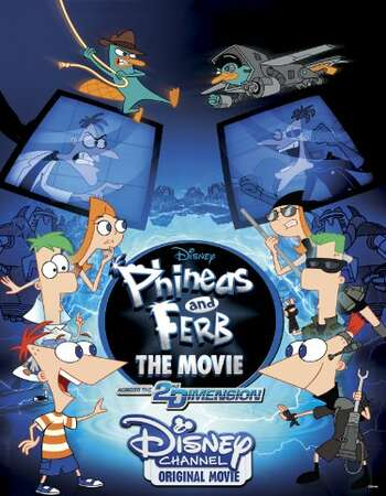 Phineas and Ferb the Movie 2011 Hindi Dual Audio BRRip Full Movie 720p Free Download