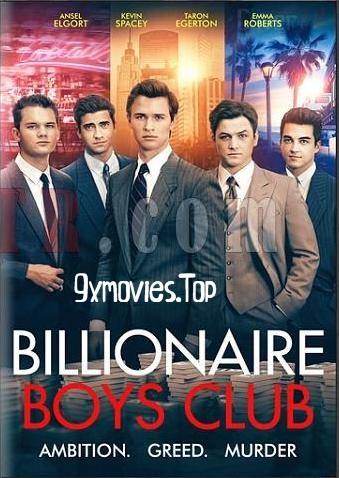 Billionaire Boys Club 2018 English 480p BRRip 300MB ESubs