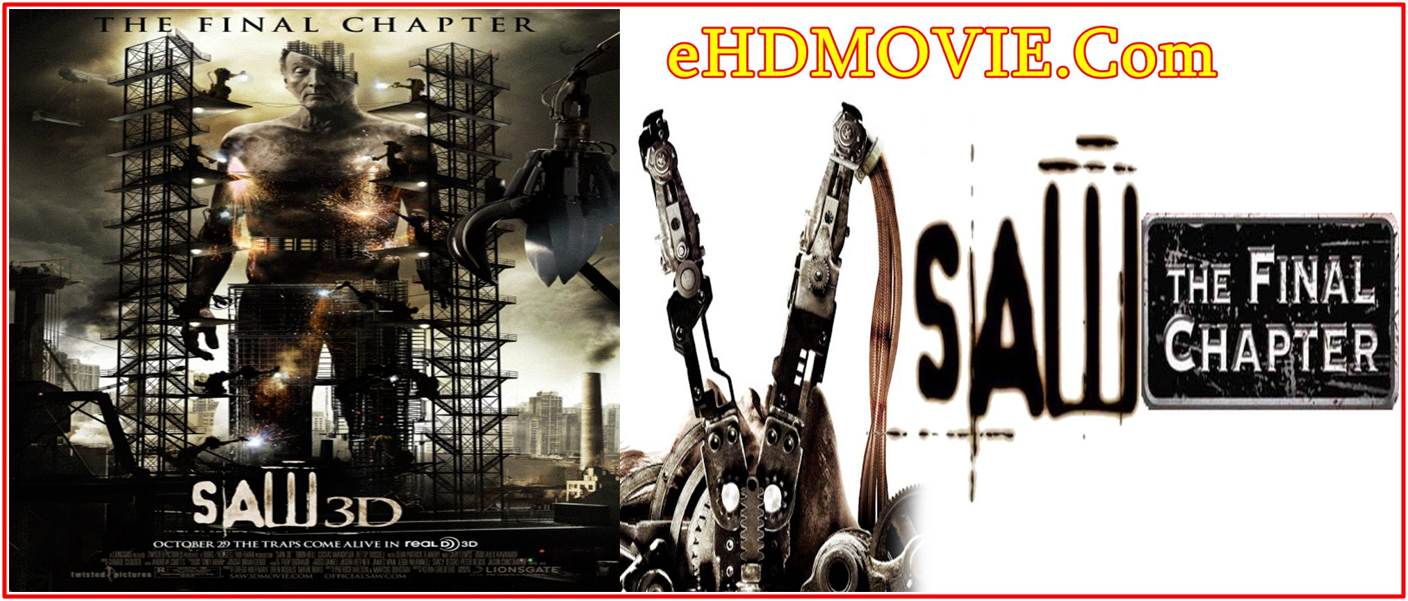 Saw 3D: The Final Chapter 2010 Full Movie English 720p – 480p ORG BRRip 350MB – 750MB ESubs Free Download