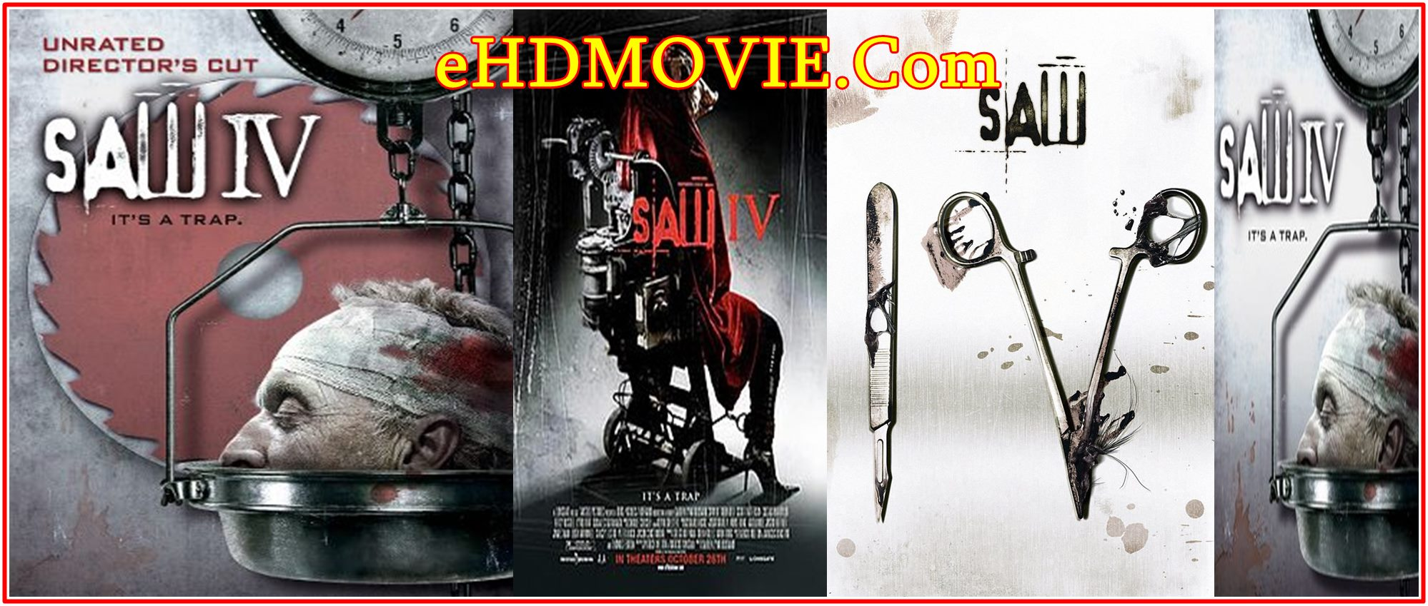 Saw IV 2007 Full Movie English 720p – 480p ORG BRRip 350MB – 800MB ESubs Free Download