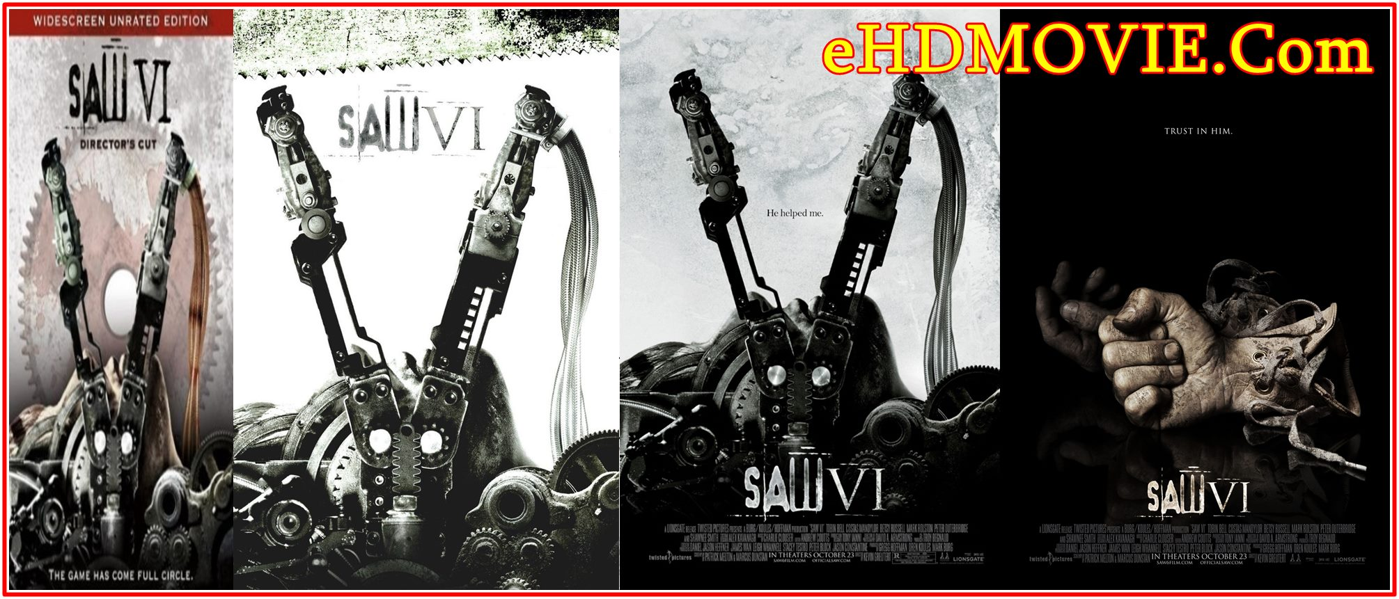 Saw VI 2009 Full Movie English 720p – 480p ORG BRRip 350MB – 750MB ESubs Free Download