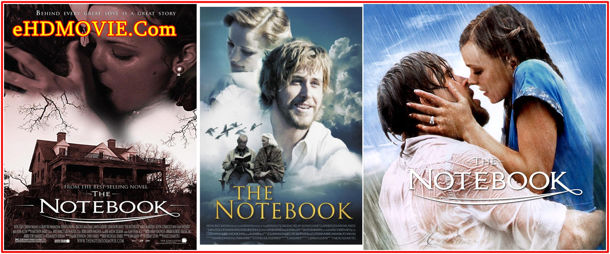 The Notebook 2004 Full Movie Dual Audio [Hindi – English] 720p – 480p ORG BRRip 400MB – 1GB ESubs Free Download