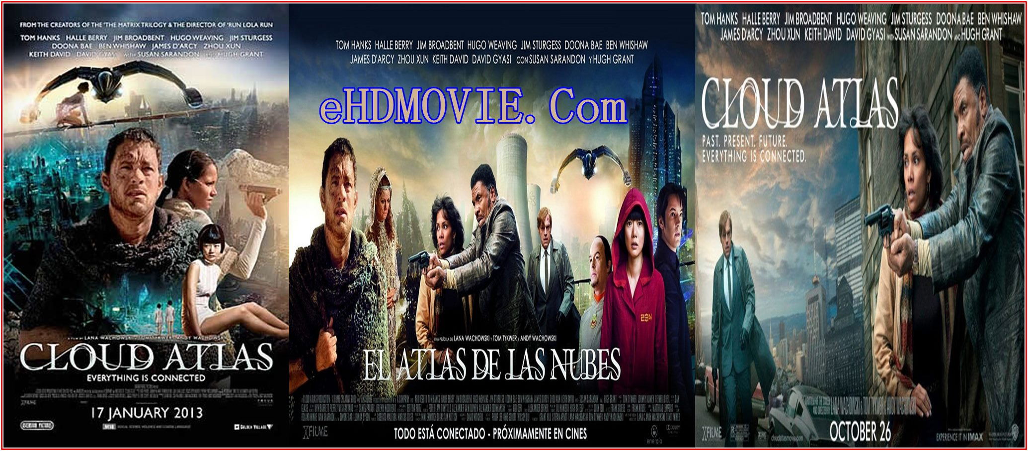 Cloud Atlas 2012 Full Movie Dual Audio [Hindi – English] 720p – 480p ORG BRRip 550MB – 1.3GB ESubs Free Download