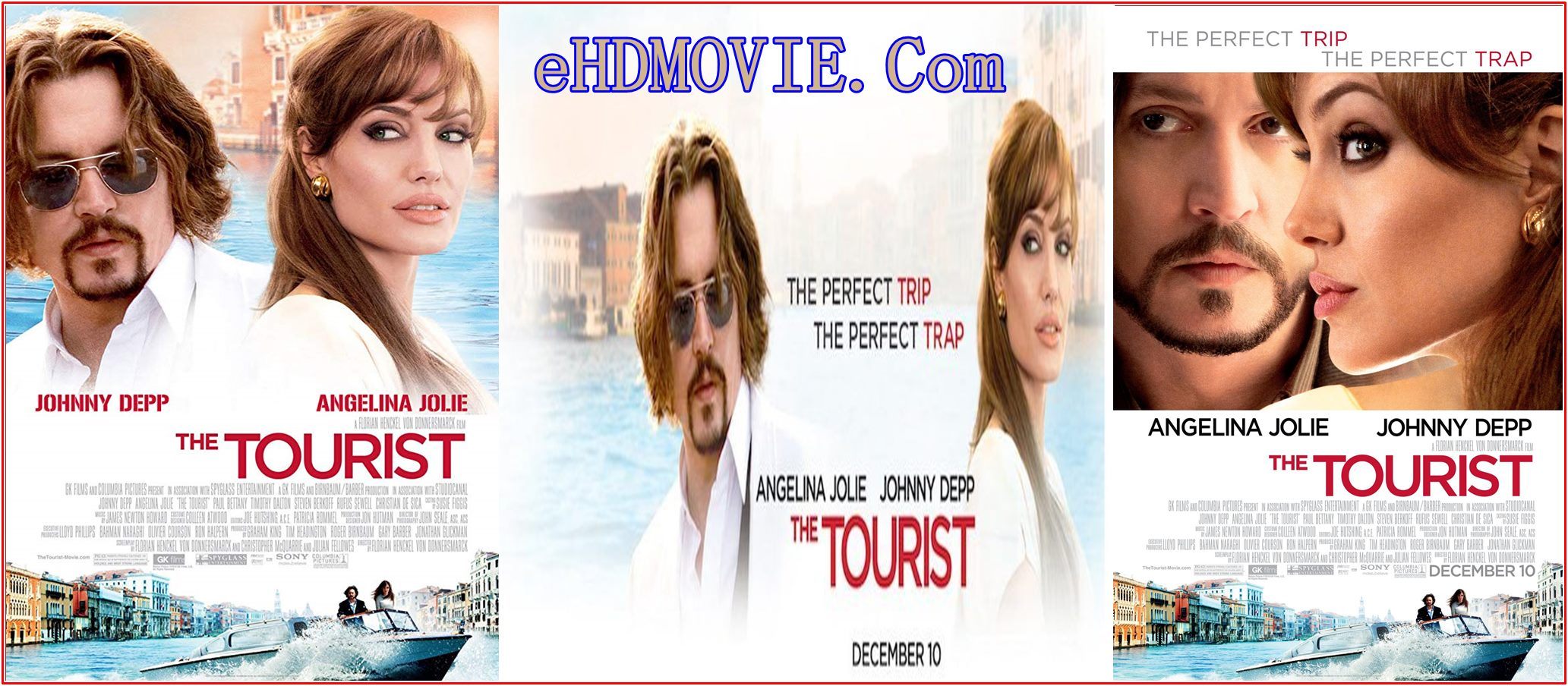 The Tourist 2010 Full Movie Dual Audio [Hindi – English] 720p – 480p ORG BRRip 350MB – 850MB ESubs Free Download