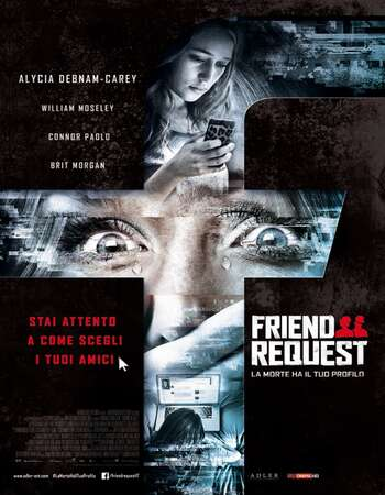 Friend Request 2016 Hindi Dual Audio BRRip Full Movie 720p Free Download
