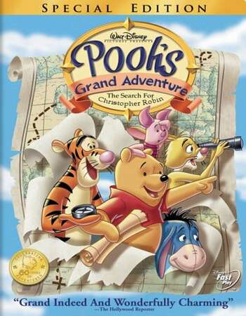 Poohs Grand Adventure The Search for Christopher Robin 1997 Hindi Dual Audio BRRip Full Movie 720p Free Download