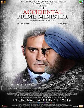 The Accidental Prime Minister 2019 Full Hindi Movie Download 480p 400MB WEB-DL