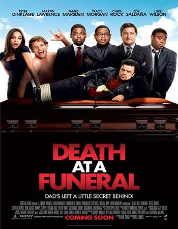 Death at a Funeral 2010 Dual Audio Hindi 300MB | 900MB BluRay 480p | 720p ESubs